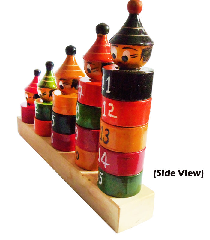 Chanapatna Wooden Number Counting Toys-pic2