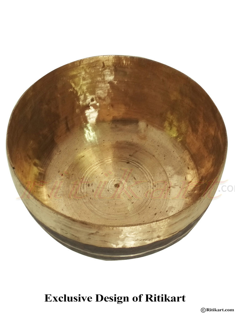 Balakati Kansa-Bronze Utensils Bowl from Odisha pic-3