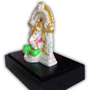 Marble work Lord Ganesh Statue With Stand-pic2