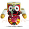 Jagannath Balabhadra Subhadra Wooden Idol 6 Inch Height Round-pc2