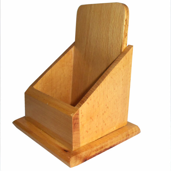 Wooden Mobile Stand pic-1