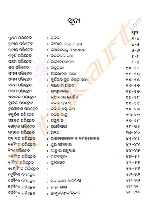 Odia Novel Prayaschita By Fakir Mohan Senapati