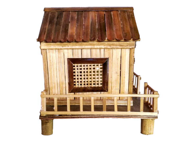 Handmade House Design From Bamboo pic-2