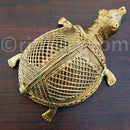 Dokra Art Product Big Turtle Showpiece