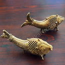 Dokra Art Product  Dual Fish Showpiece