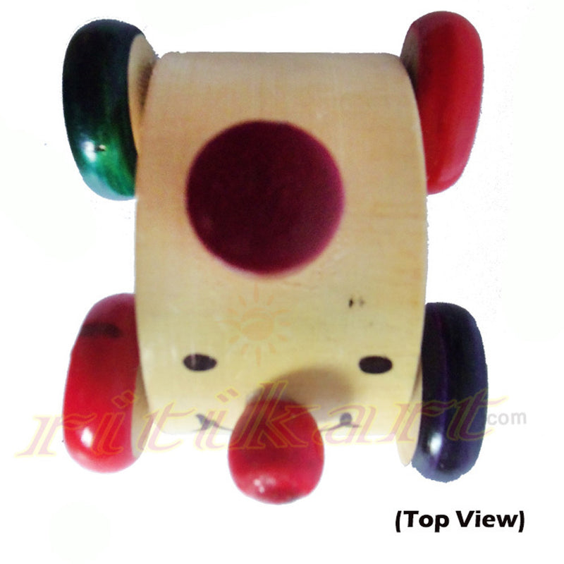 Wooden Pull And push Toy Car-pic3