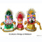 Jagannath Balabhadra Subhadra Wooden Idol 15CMs High-pc4