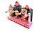 Lord Jagannath Balabhadra Subhadra 4 Inch idol With Prabha