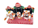 Lord Jagannath Balabhadra Subhadra idol 4 inch with Dias pic-3