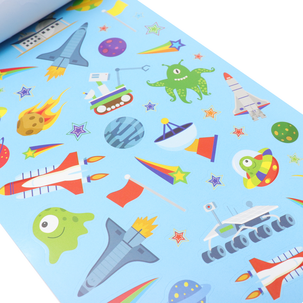 Libro De Stickers Space