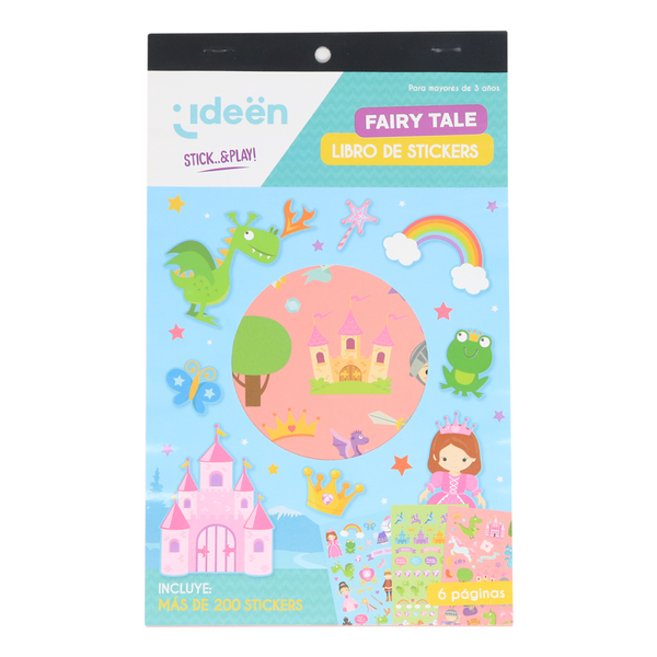 Libro De Stickers Fairy Tale