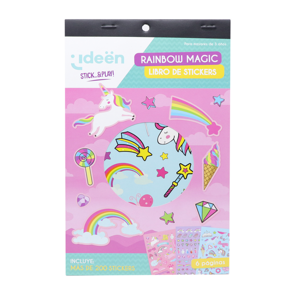 Libro De Stickers Rainbow Magic