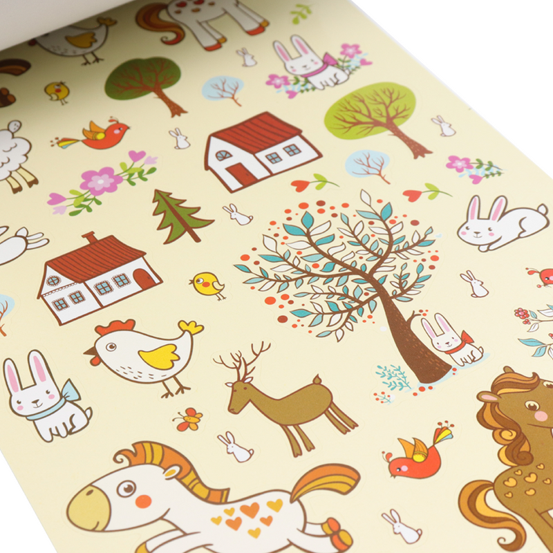 Libro De Stickers Forest Animals
