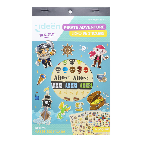 Libro De Stickers Pirate Adventure