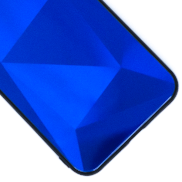 Case Geometric Blue