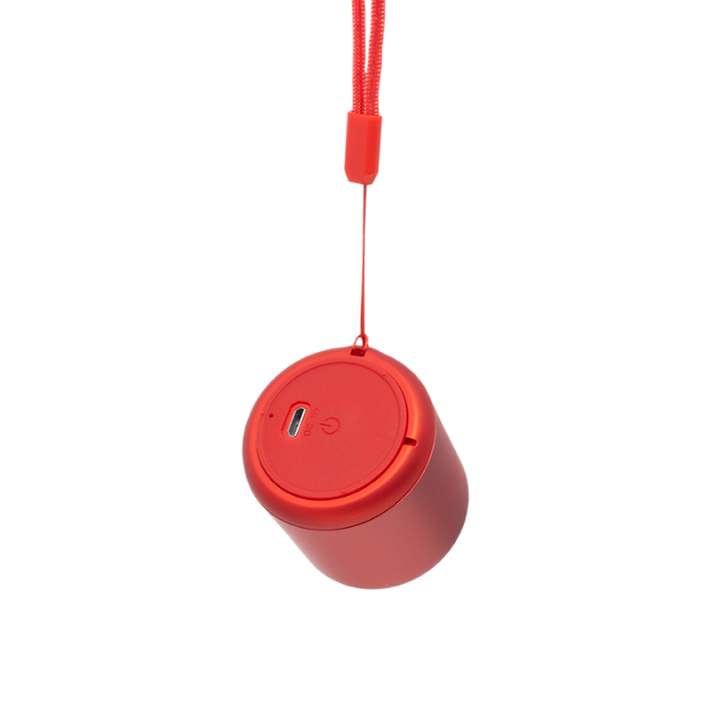 Mini Bocina Bluetooth Portátil Roja