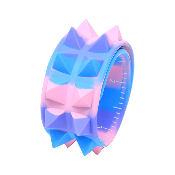 Slap Band Spiky azul