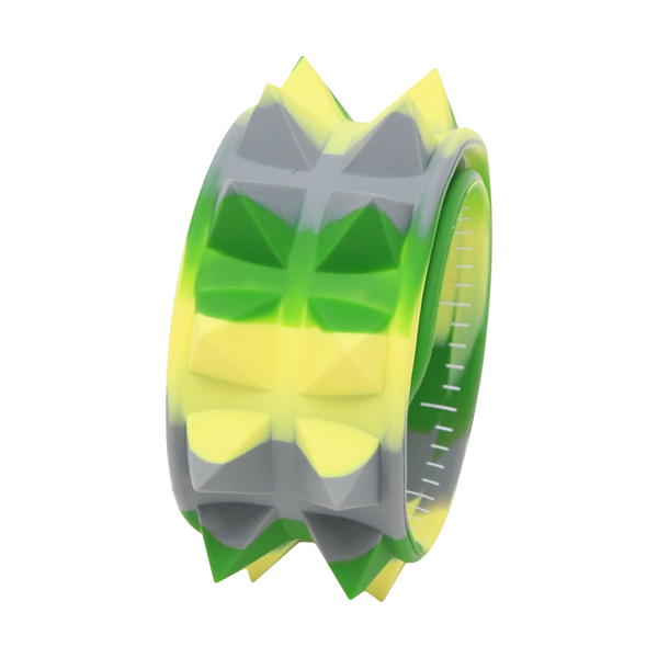 Slap Band Spiky verde