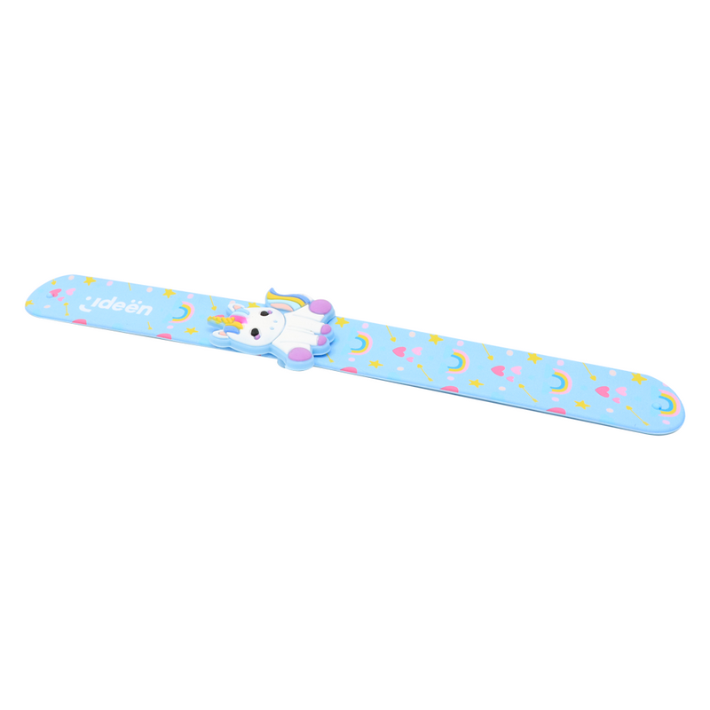 Slap Band Unicorn Pulsera- Regla