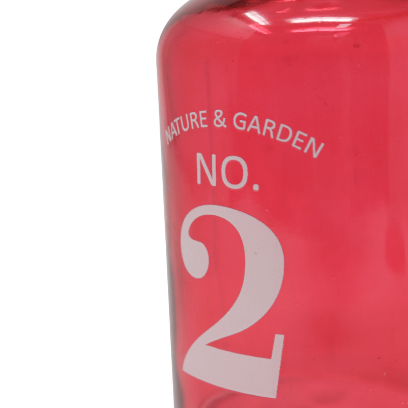 Scandinavian NO.2 Glass Vase Red