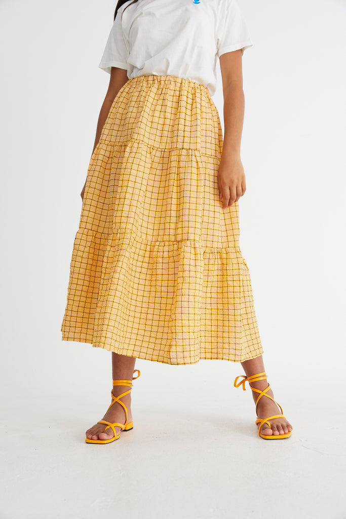 Sunflower Maxi Skirt