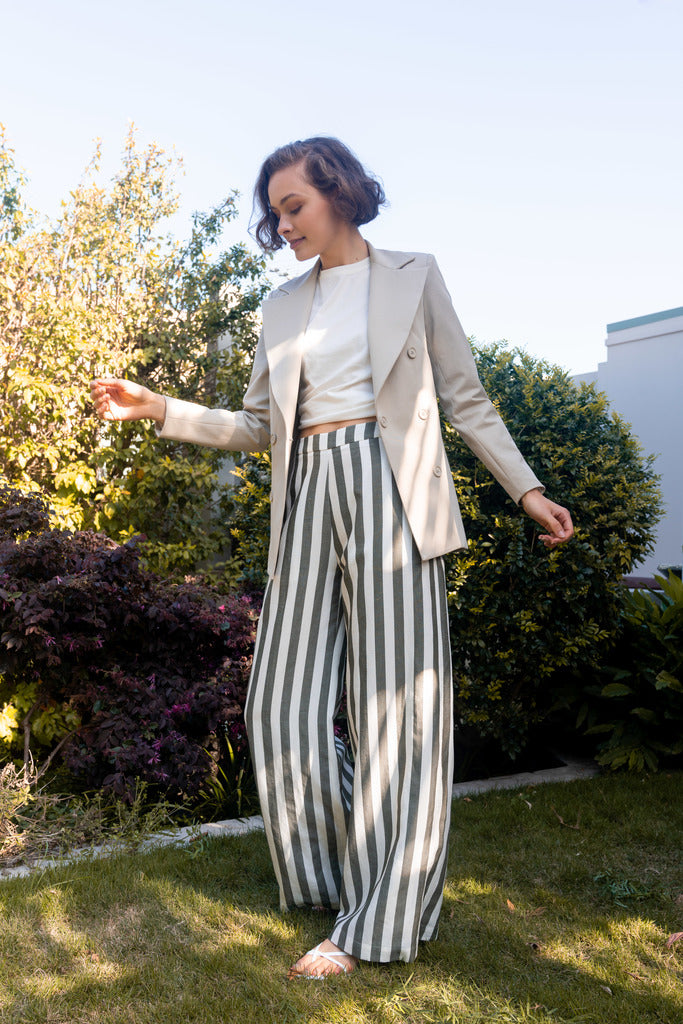 The Take Off Wide Leg Pant