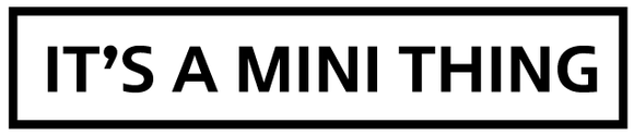 It's a MINI Thing - Vinyl Decal (1017)