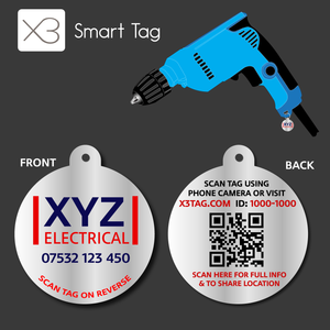 SmartTag - Equipment Tag with Your Logo