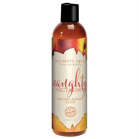 Intimate Earth Naughty Nectarines Pleasure Glide 120ml