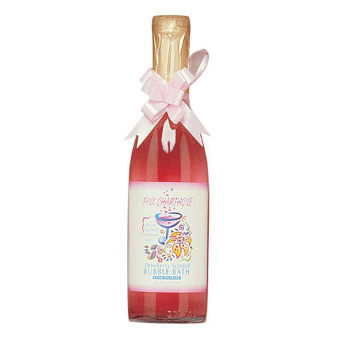 Pink Champagne Strawberry Scented Bubble Bath w-Pheromones 12.2oz