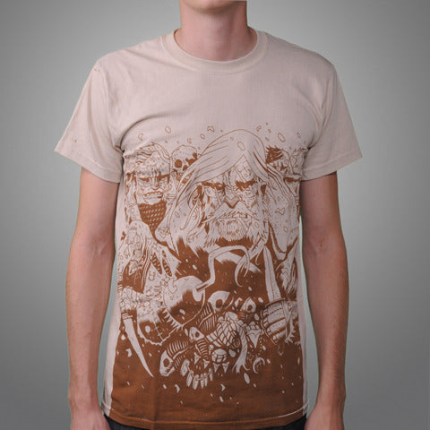 "SOLD OUT Streetlight Manifesto ""Ship of Fools: ODDS & ENDS"" T-Shirt (Sand)"