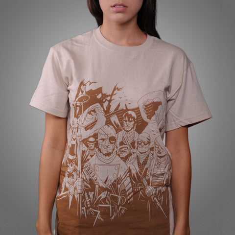 "Streetlight Manifesto ""Ship of Fools"" T-Shirt (Sand)"