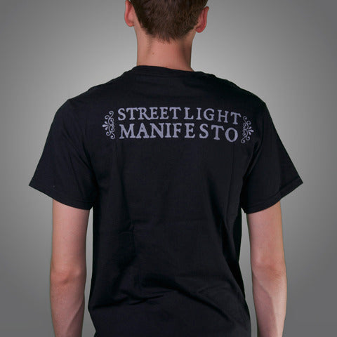 "Streetlight Manifesto ""Ship of Fools"" T-Shirt (Black)"