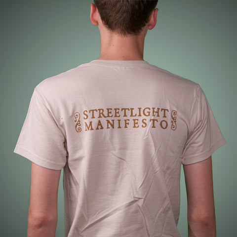 "Streetlight Manifesto ""Ship of Fools: ODDS & ENDS"" T-Shirt (Sand)"