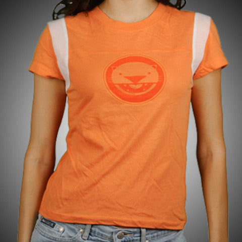 "Macavity ""Girls Orange Oval"" T-Shirt"