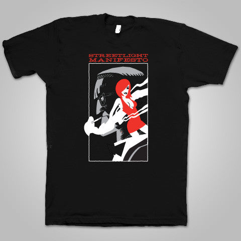 "Streetlight Manifesto ""Red Dress"" T-Shirt (Black)"