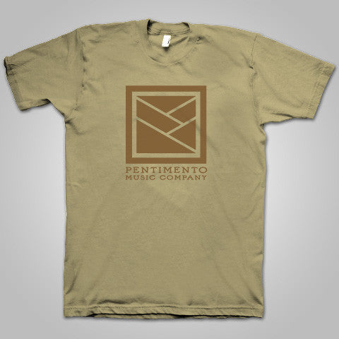 "Pentimento Music Co. ""PMC Logo"" T-Shirt (Sand)"