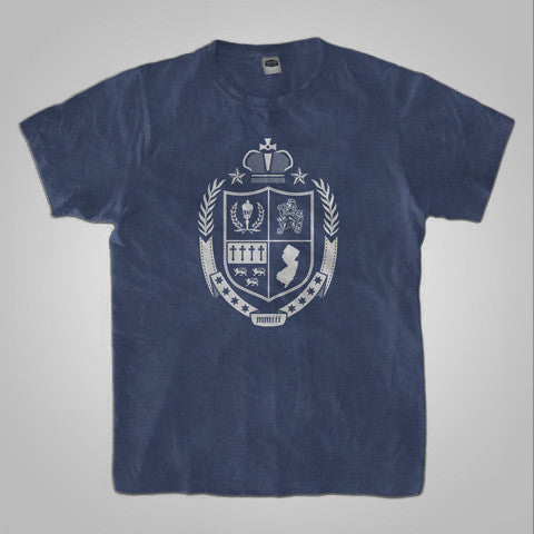 "Streetlight Manifesto ""Coat Of Arms"" T-Shirt (Heather Navy)"
