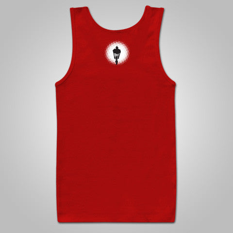 "Streetlight Manifesto ""Logo Tank"" Tank Top (Red) SOLD OUT"
