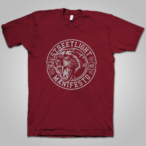 "Streetlight Manifesto ""Panther"" T-Shirt"