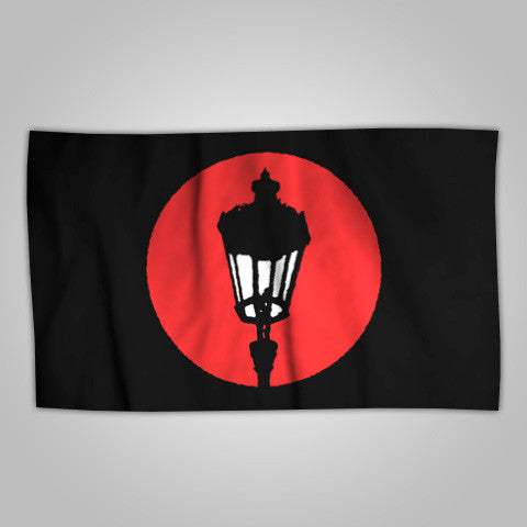 "Streetlight Manifesto ""Streetlamp Logo"" Flag (Sold Out)"