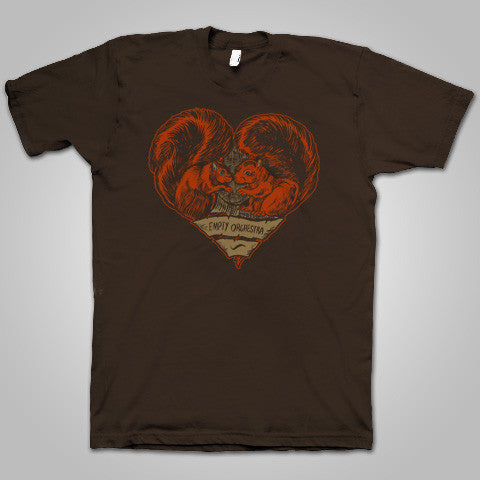 "Empty Orchestra ""Squirrel Heart"" T-Shirt"