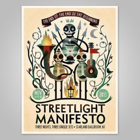 "Streetlight Manifesto ""End Of The End Of Beginning OFFSET Poster"""