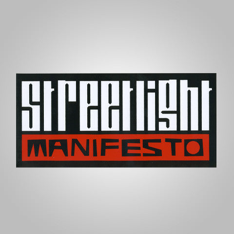 "Streetlight Manifesto ""SUPER Logo"" Sticker"