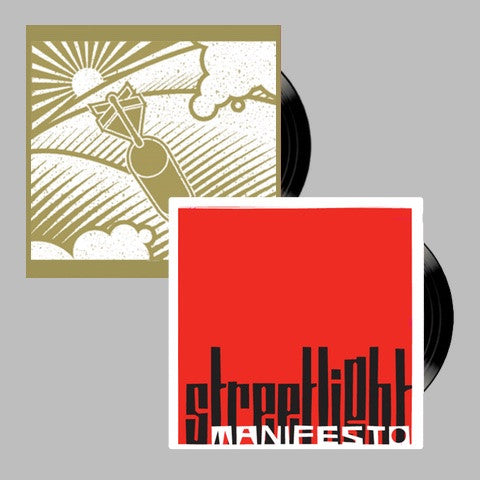 "Streetlight Manifesto / B.O.T.A.R. ""Demo + A Call To Arms"" Vinyl Double Bundle"