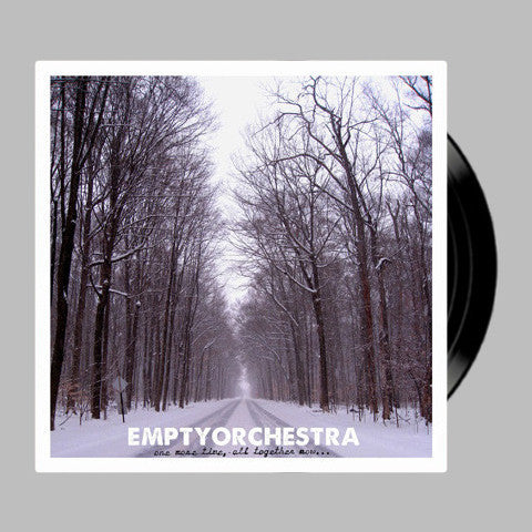 "Empty Orchestra ""One More Time, All Together Now..."" VINYL LP"