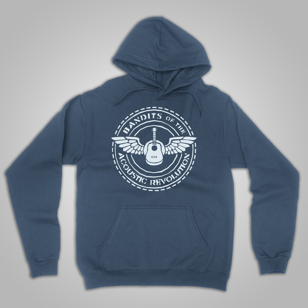 "B.O.T.A.R. ""Round Logo"" Pullover Hoodie (Heather Blue)"