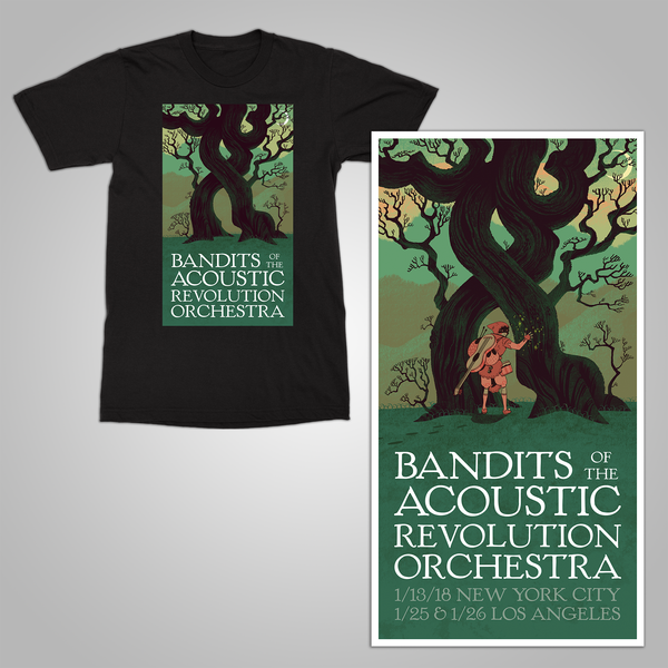 "B.O.T.A.R. ""Orchestra Tour"" SHIRT and POSTER Bundle"
