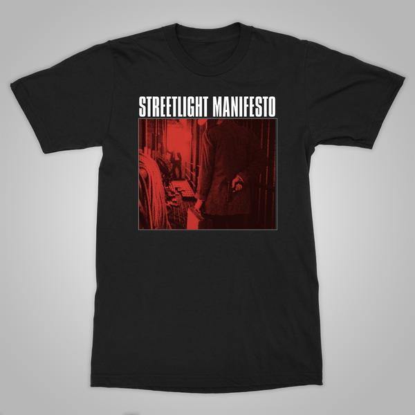 "Streetlight Manifesto ""Keasbey Nights Anniversary Tour TOMS RIVER"" T-Shirt (Black)"
