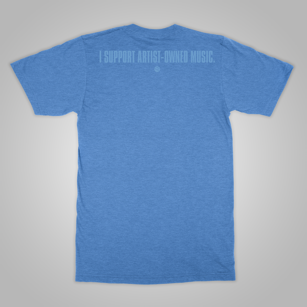 "Streetlight Loves Pentimento ""Support"" T-Shirt (Heather Blue)"